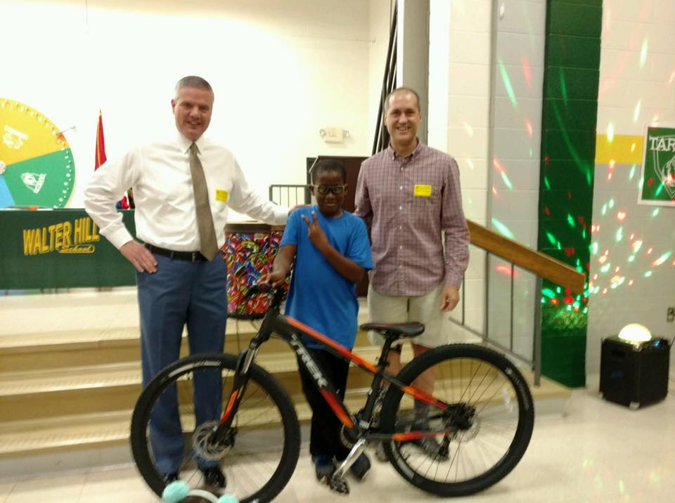 Perfect Attendance Lands a Child with a New Bike