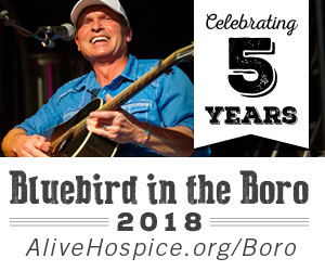 Bluebird in the Boro this March