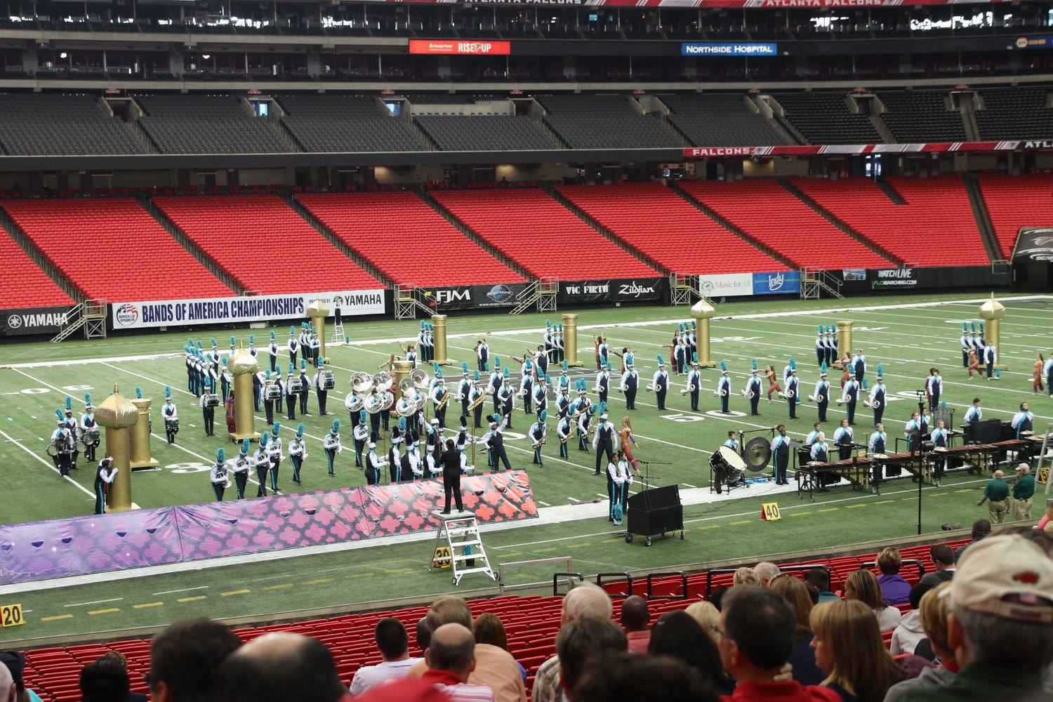 Siegel High School Band ends season on high note