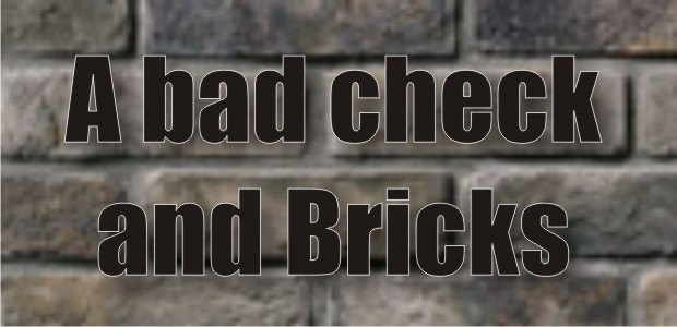 Over $7,000 in bricks purchased in Murfreesboro with a bad check