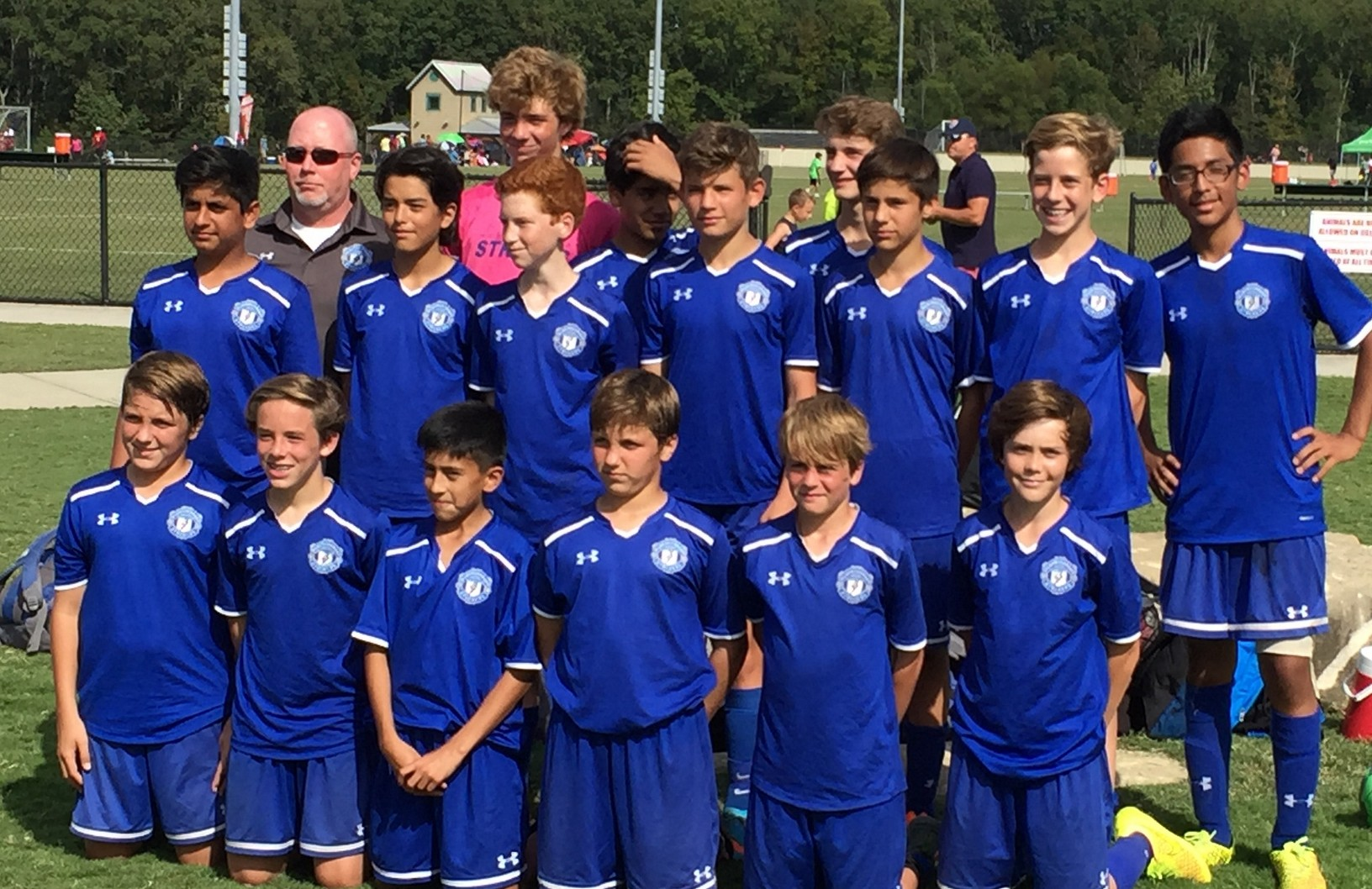 Strikers 02 Premier team was named Champion in the Under 14 Boys First Division