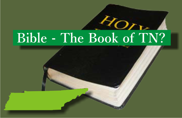 Will the Bible be the official Book of Tennessee?
