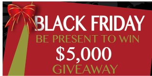 $5,000 Giveaway at Stones River Mall on Black Friday