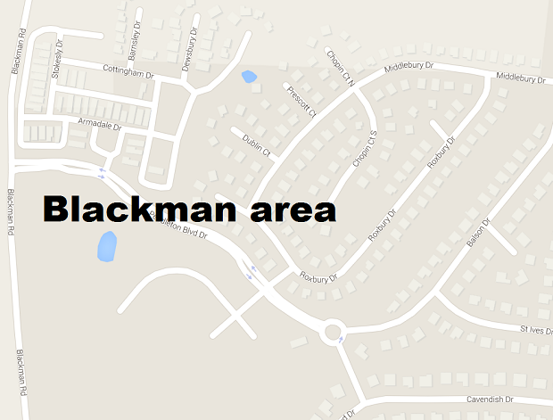 Racially motivated vandalism in Blackman area
