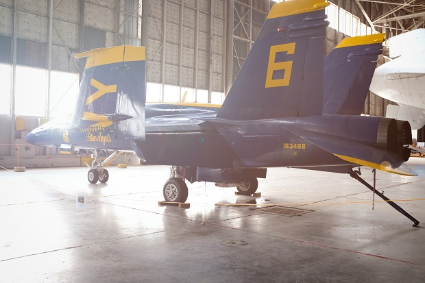 Delay of Installation of the Blue Angel F/A-18C Jet in Smyrna