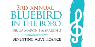 Bluebird in the Boro Music Event in March