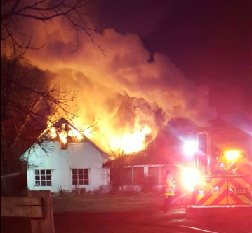 Home destroyed by fire Tuesday night on Bradyville Pike - See all the photos