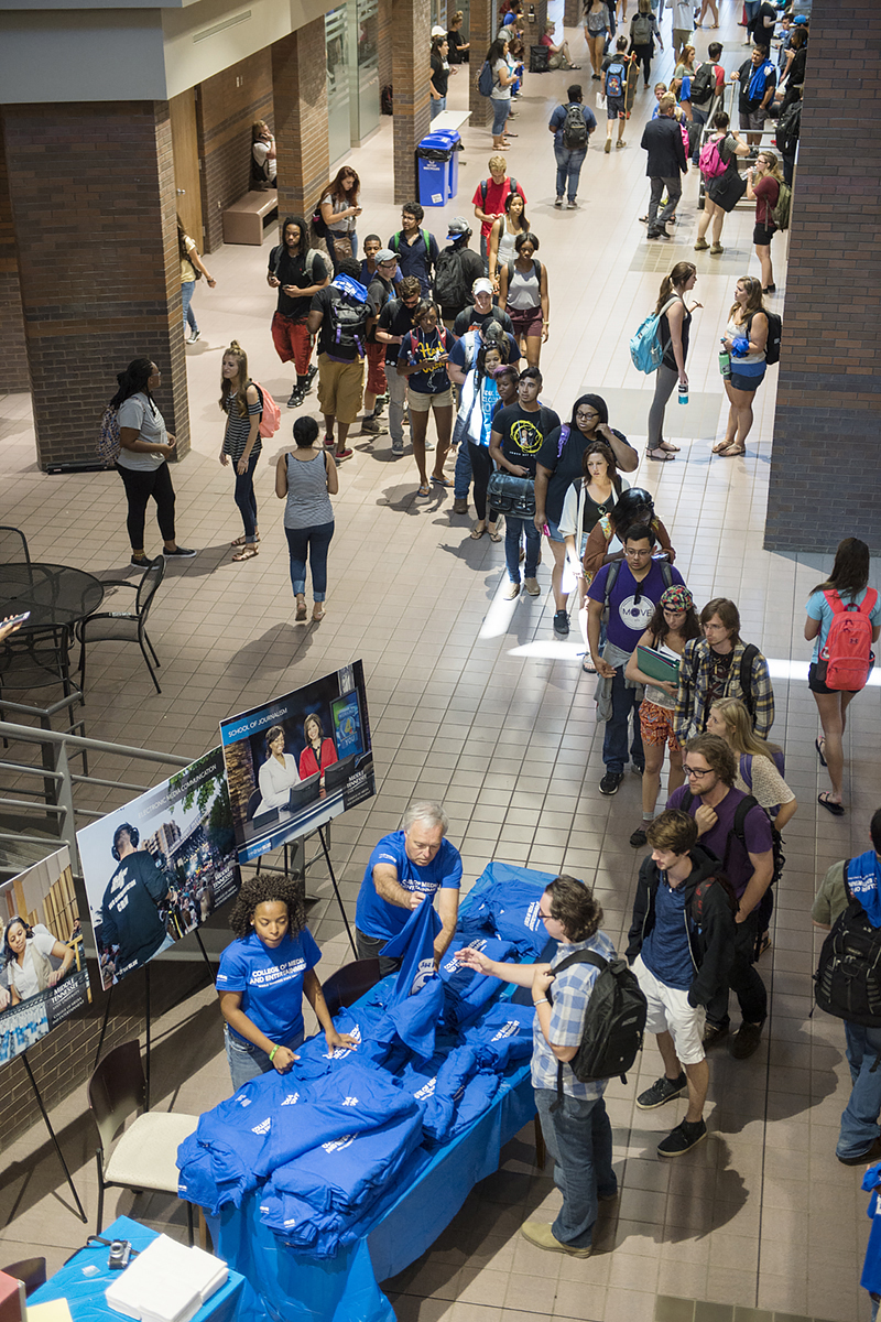 Two MTSU colleges welcomes students with new event, name change