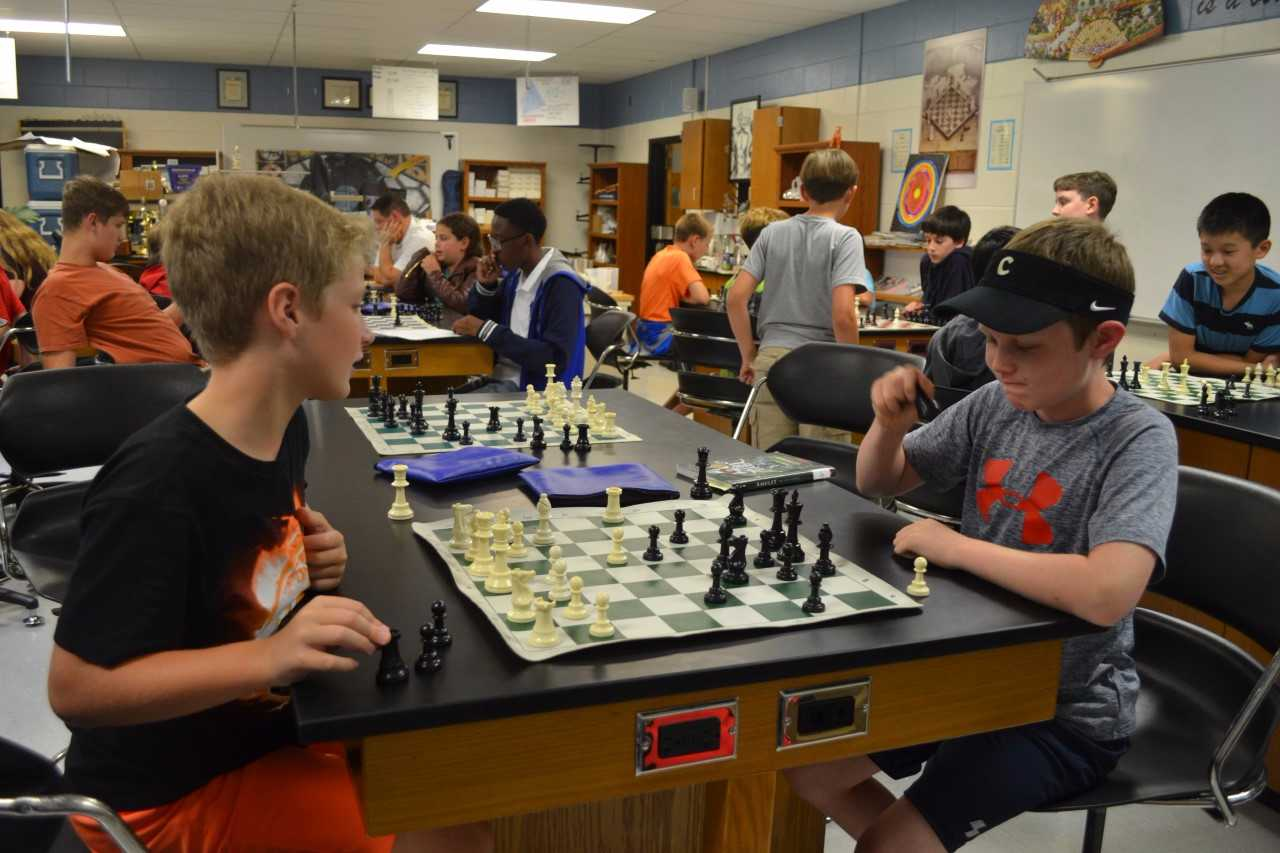 Chess programs at Central and McFadden intended to reinforce academics, problem-solving