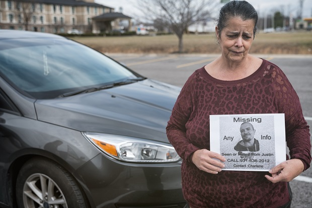 Her son has been missing since November