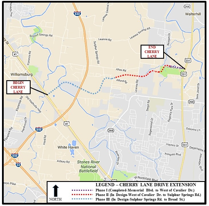 Cherry Lane Extension in Murfreesboro Explained