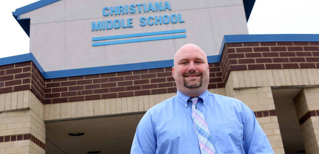 Christiana Middle's Chris George selected for Governor's Academy for School Leadership