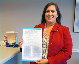 Christy Sigler qualifies as a candidate for Rutherford County's 34th State House District