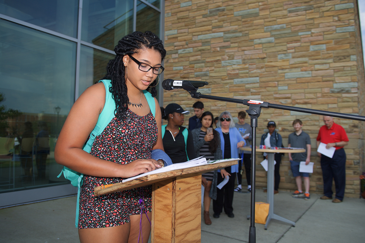 Guest jurists celebrate Constitution Day by issuing opinions for MTSU audience