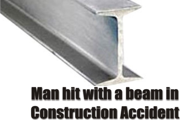 Construction Accident in Murfreesboro - Man hit with a beam
