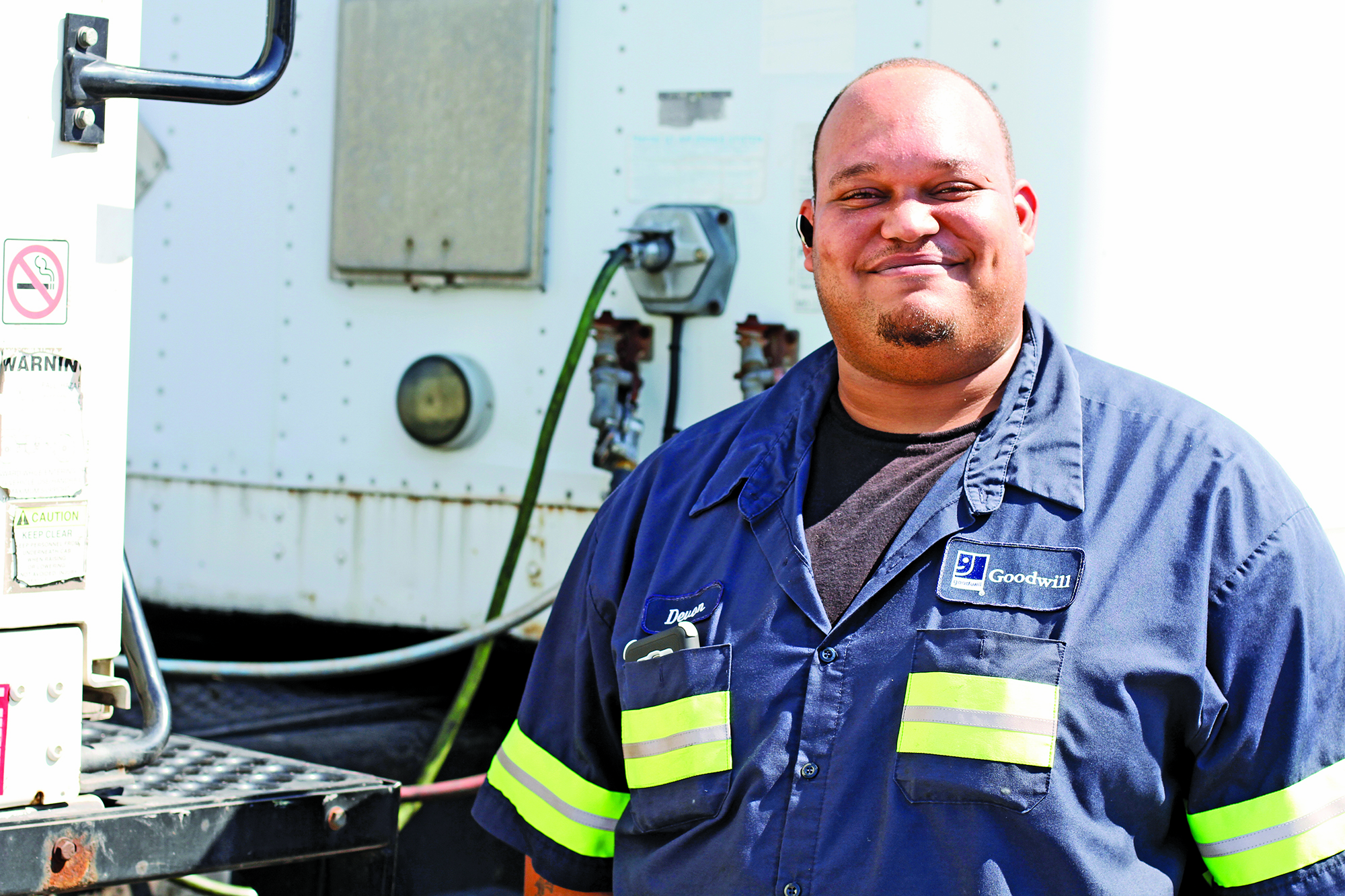 With Goodwill's Help, Young Man Makes U-Turn on Toubled Life