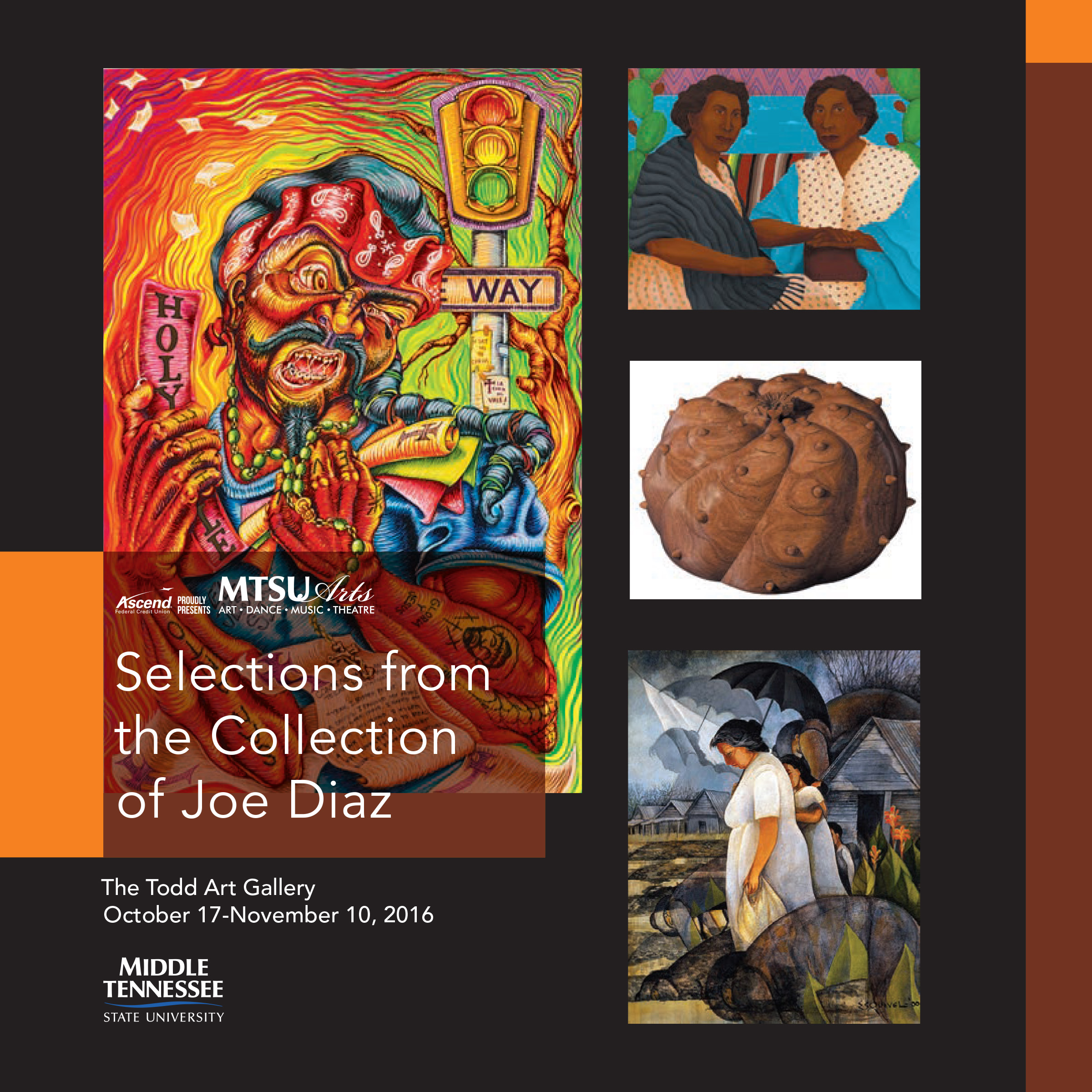 The Joe Diaz collection to be featured at MTSU on Monday