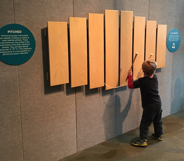 Discovery Center opens new exhibit Science of Music: Good Vibrations