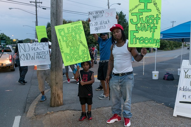 Black Lives Matter Rally Outside of Uncle Dave Macon Days | #Blacklivesmatter,Black Lives Matter,Uncle Dave Macon,rally,event,Murfreesboro Black Lives Matter,Kaymi Butler