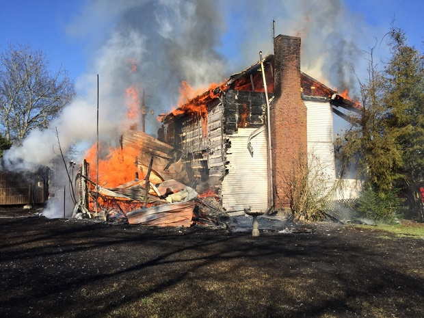 100 Year Old Eagleville Home Destroyed by Fire