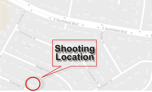 Gunshots heard on Eventide Drive in Murfreesboro