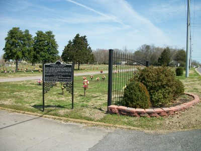 Equipment stolen from Evergreen Cemetery in Murfreesboro
