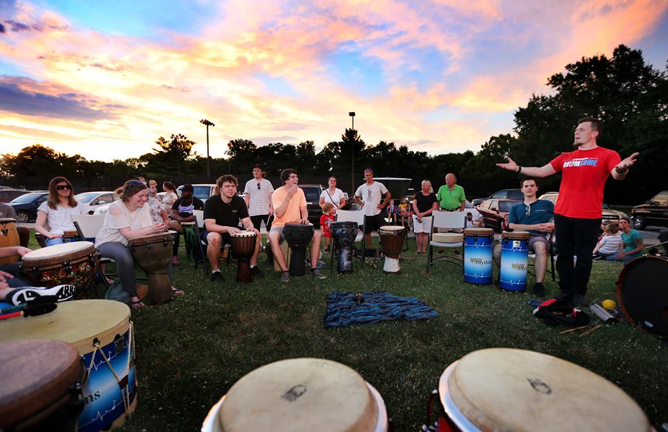 Murfreesboro Community Rhythm Event, Thursday, Sept. 22, Rutherford County Courthouse
