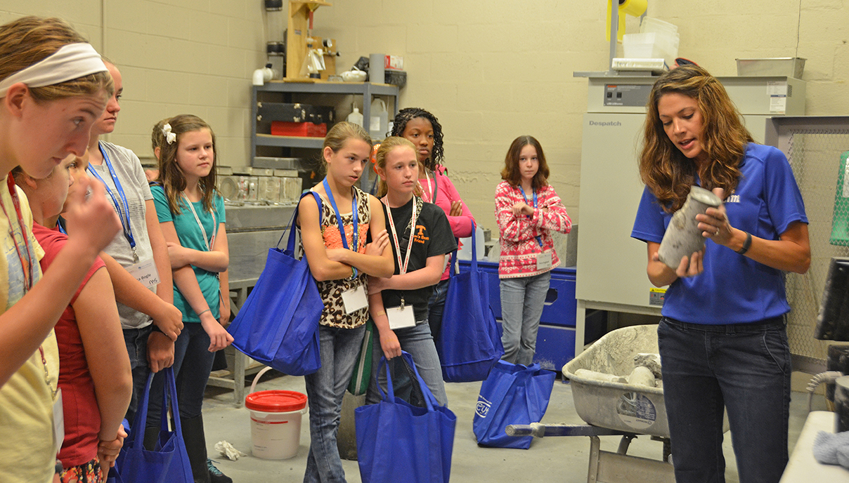Middle and High School girls should register for the Expanding Your Horizons in Math in Science at MTSU event