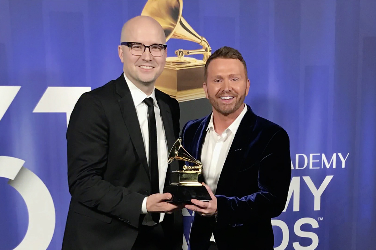 MTSU alumnus Laird calls 2nd Grammy 'unbelievable,' proud to 'be creative for a living'