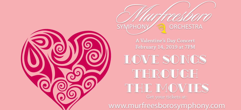 Murfreesboro Symphony Orchestra Valentines Concert