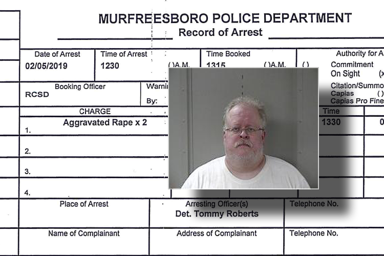 Arrest made in Aggravated Rape Case dating back to 1988 in Murfreesboro