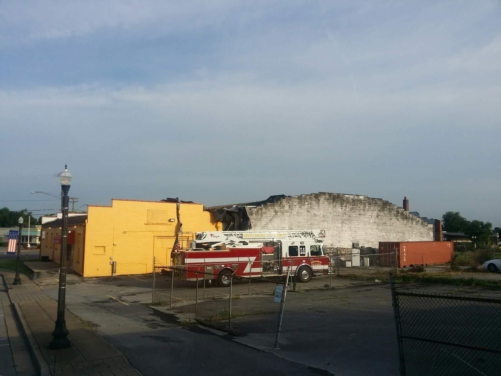 Salvation Army Family Store and Imperial Inn suffers major storm damage