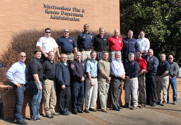 Murfreesboro Fire and Rescue Hosted Steering Committee Meeting for Event in Nashville