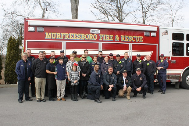 Firehouse Subs in Murfreesboro Help Local Fire Department