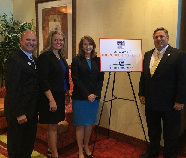 First Lady Crissy Haslam was in Murfreesboro for United Way event