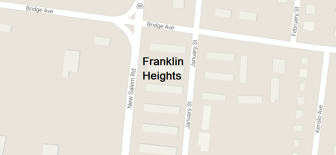 Will the old and vacant Franklin Heights Housing Projects be sold to a private investor?