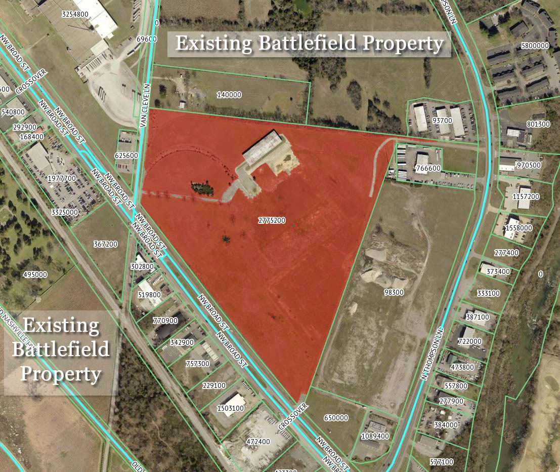 UPDATE: Company wants to build distribution center on battlefield - Friends of Stones River Battlefield say no
