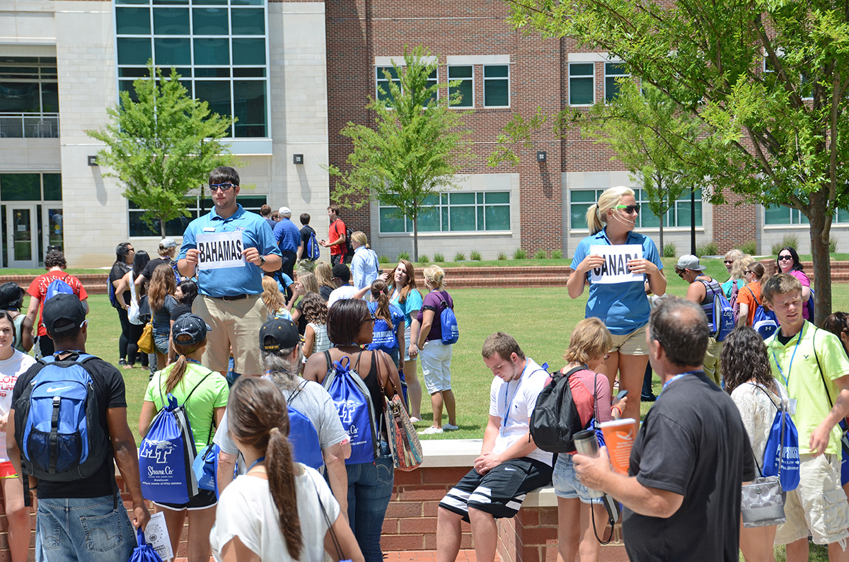 Summer orientation for new MTSU students on Thursday