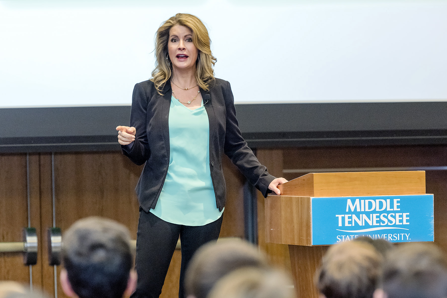 Gigi's Cupcakes founder tells MTSU students to 'do what's in your heart'
