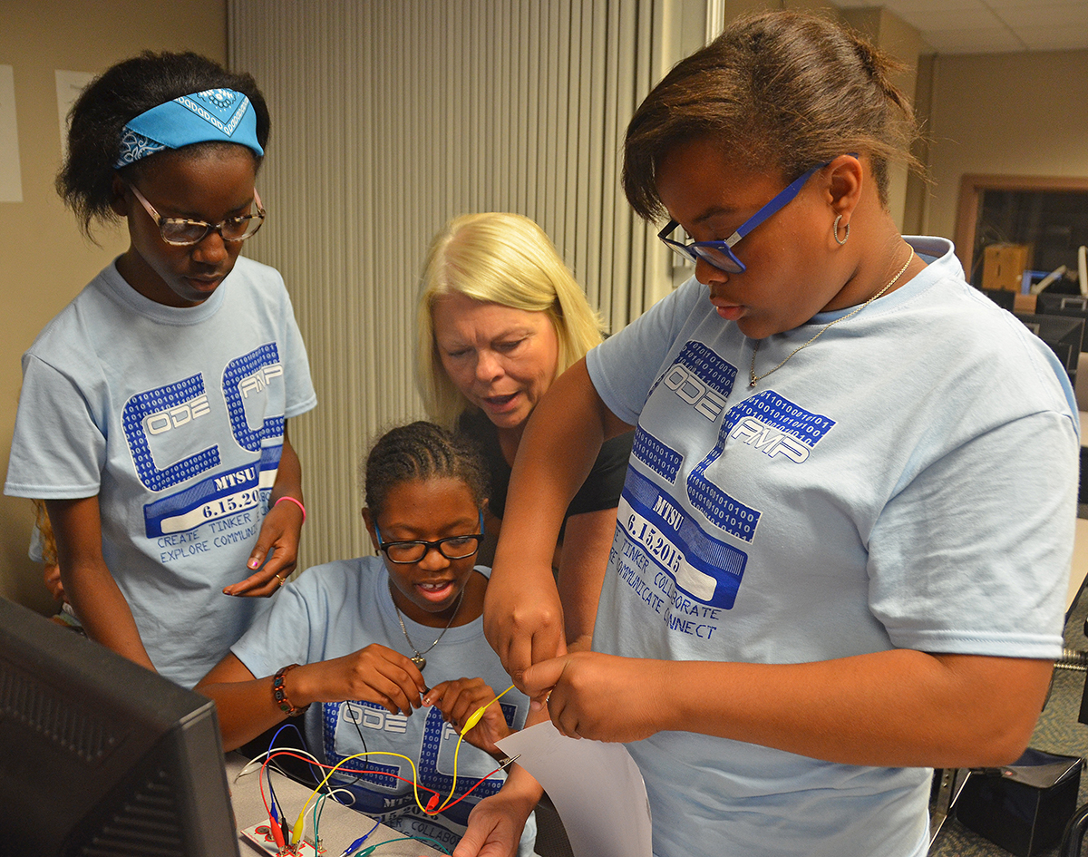 Youth 'Scratch' the surface at MTSU Coding Camp