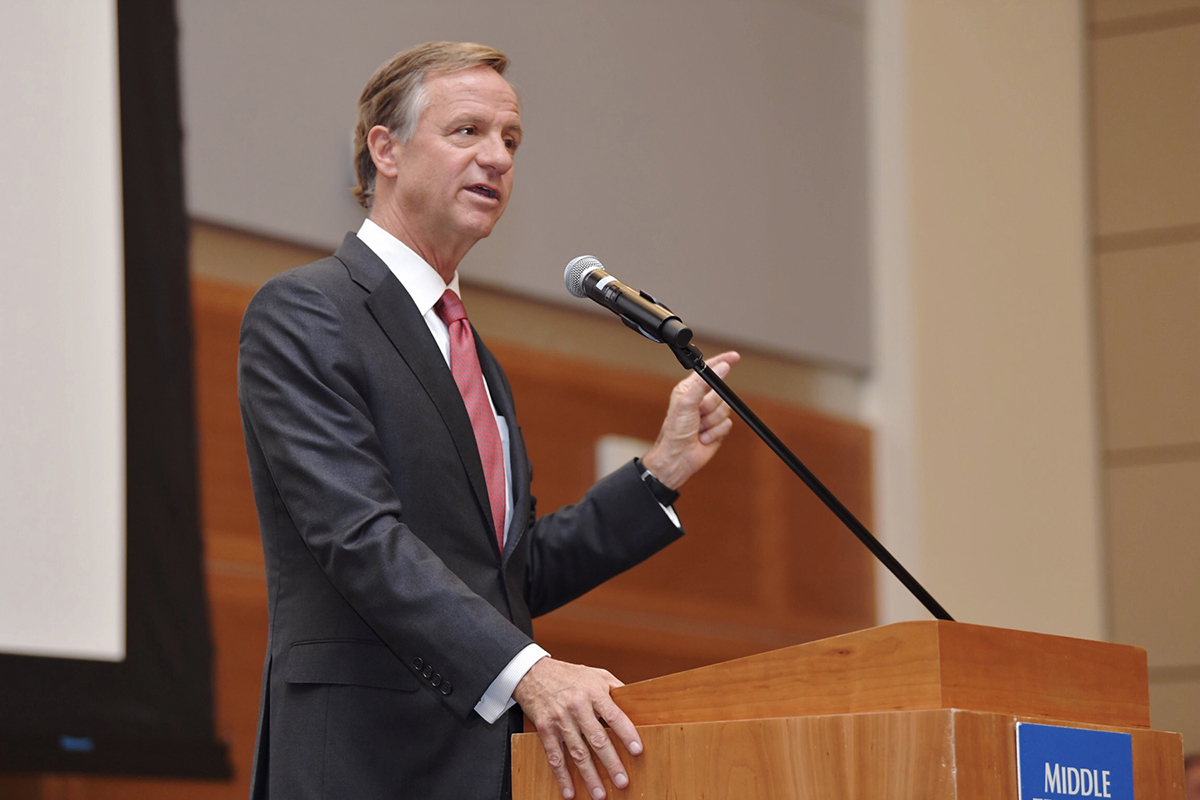 Haslam Approves Recommendations of School Safety Panel