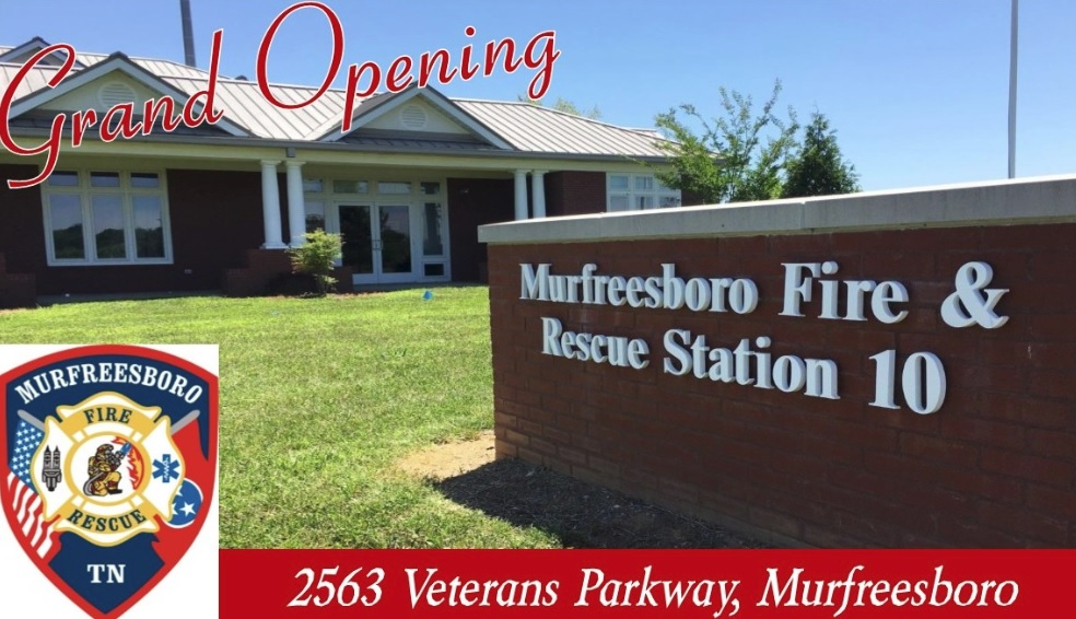 New Fire Station to Open Monday in Murfreesboro