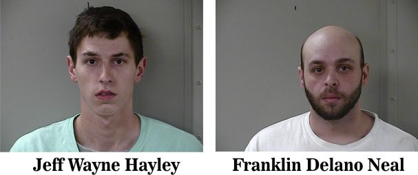 Two arrested for allegedly burglarizing local businesses