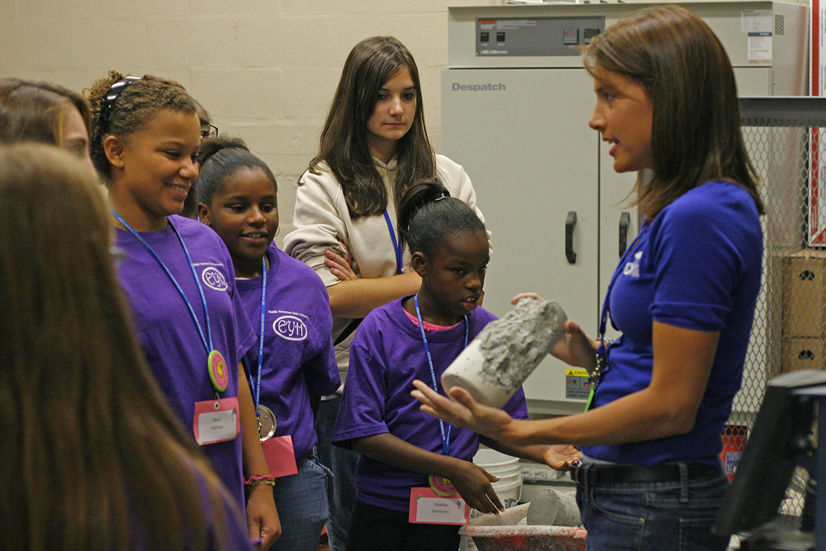 Registration continues for girls'  Feb. 10 math-science event at MTSU