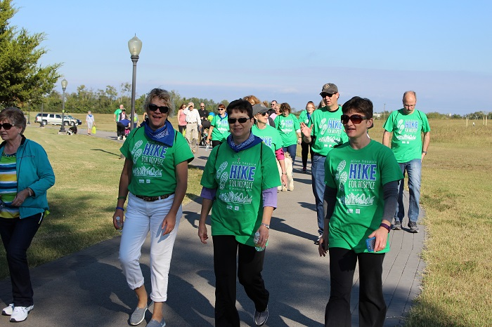 Hike for Hospice was held this past Saturday in Murfreesboro