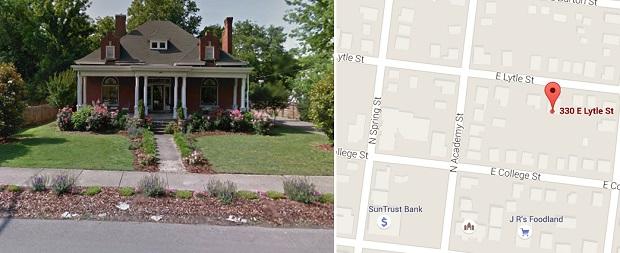 Historic home marking in downtown Murfreesboro this Sunday