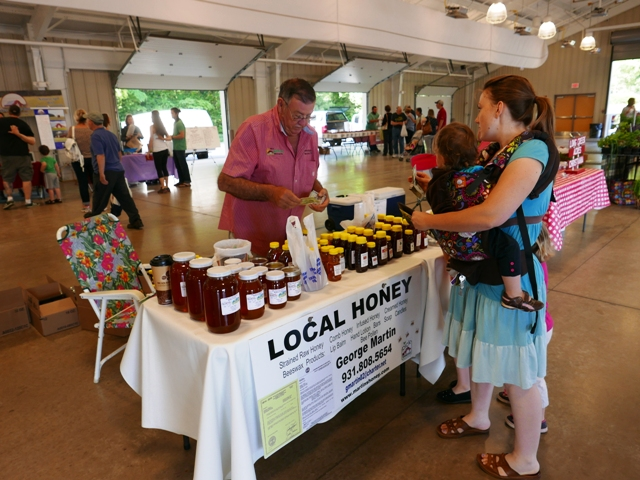 Farmers Market OPEN Tuesday and Friday this week in Murfreesboro - Free Classes
