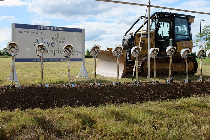 UPDATE: Alive Hospice Held a Groundbreaking in Murfreesboro Wednesday