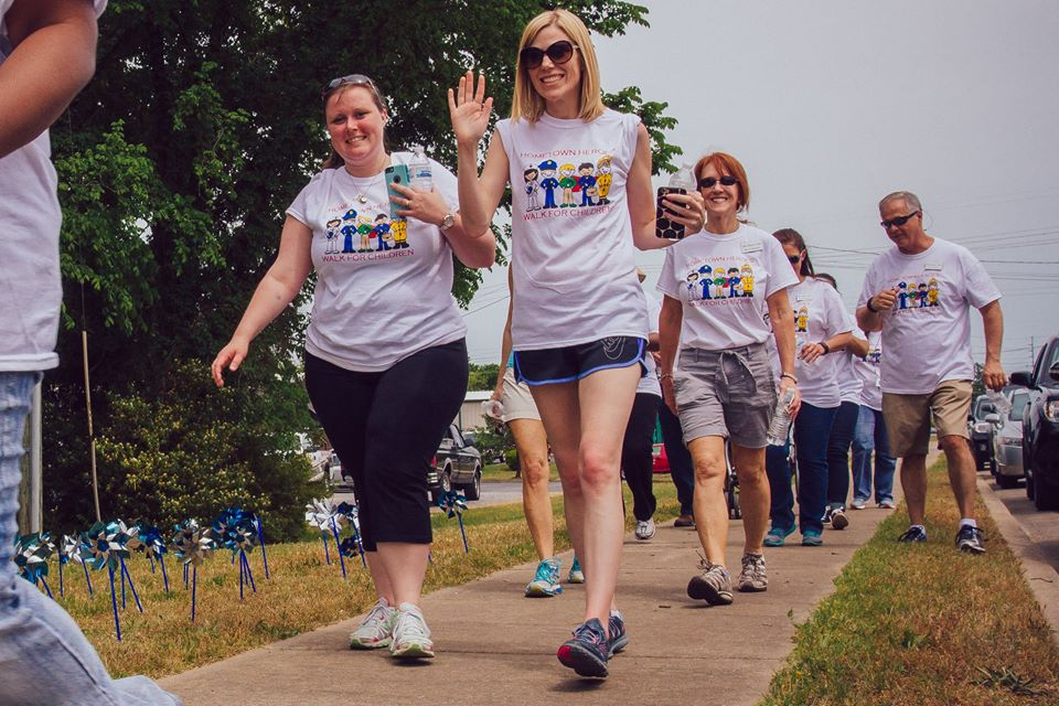 2nd annual Hometown Heroes Walk for Children
