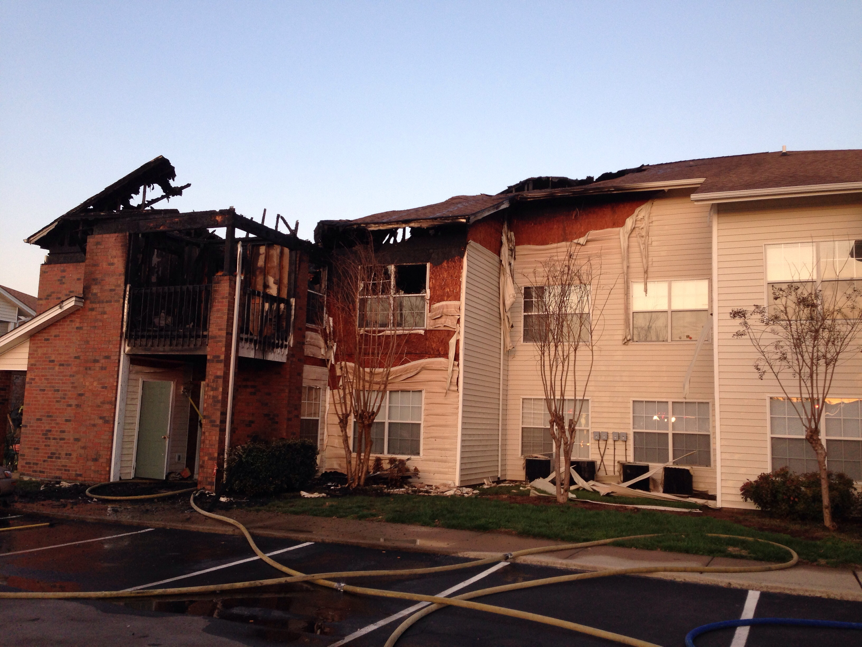 UPDATE: Murfreesboro fire on Indian Park Drive